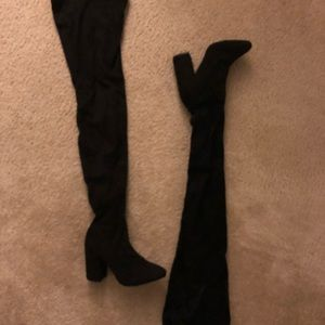 Size 8 THIGH-high boots